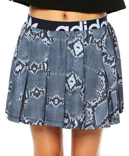 adidas Originals Women's Mini Skirt LA Snakeskin Print AB2622 UK6, 8,10,12,14,16